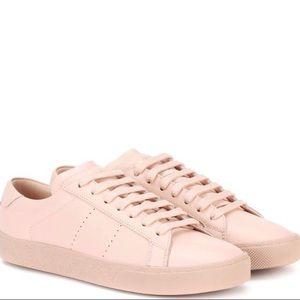 Saint Laurent Court Sneakers SL/06 in light pink
